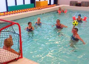 Stichting Hart in Friesland - De Warrenhove - ouderen zwemfun