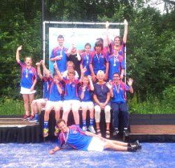 Stichting Hart in Friesland - KV Oerterp : G-Korfbal